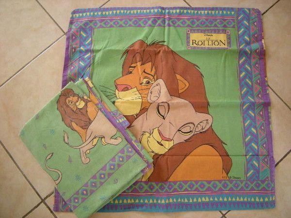 le roi lion lit 1 personne